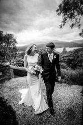 Black and White wedding photography captured at Holbeck Ghyill
