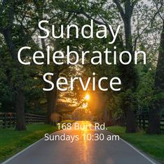 Sunday Celebration Service