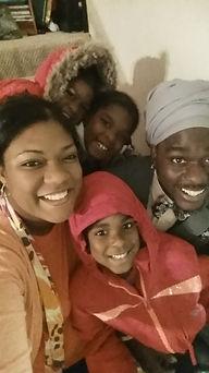 Amina Meade and Family