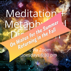Meditation and Metaphysical Discussion