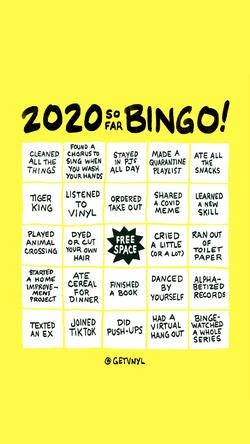 2020 so far bingoweb