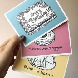 CAKE, cards