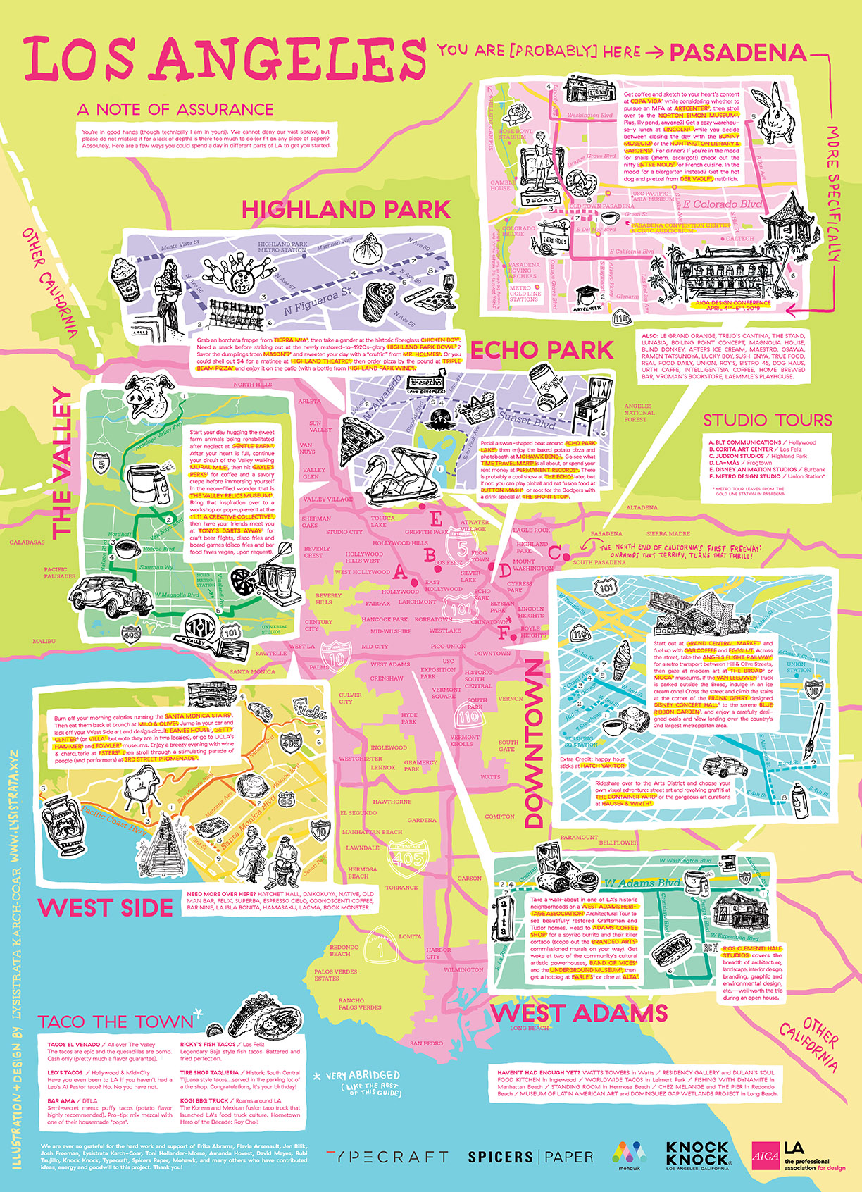 AIGA LA Adventure Guide