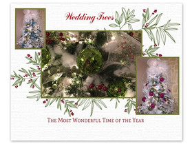 Decorated Wedding Trees