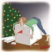 gift wrapping, christmas stress, christmas gift