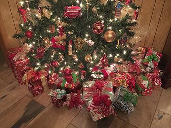 London custom christmas tree