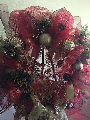 Ex large red Christmas Wreath