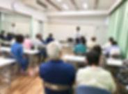 遠賀郡団主催終活セミナーの様子1
