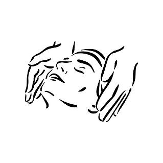 Entspannende  Schulter-, Kopf- und Nackenmassage