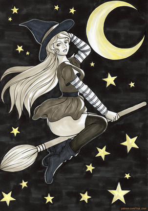 Witchy (Inktober 2019)