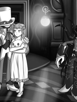 Manga monochrome commission (2021)