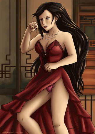 Tifa Alt Dress (FF7R)