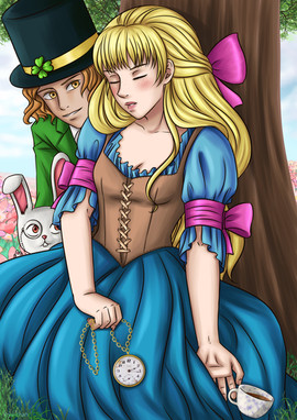 Alice in Wonderland - Sleeping