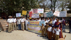 Traffic awareness rally by BPS