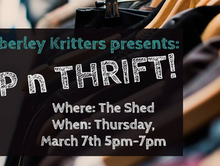 Sip n Thrift @ The Shed! *Time to shop*