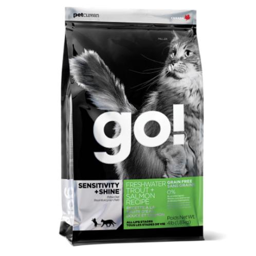 Go! Cat Sensitivity+Shine:  Grain Free Trout and Salmon
