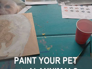 Paint Your Own Pet's Portrait! (with Wine ;)