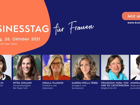 BUSINESSTAG für Frauen, 26.10.2021