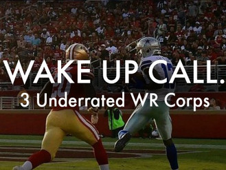 Don't Sleep on these 3 Underrated Wide Receiver Corps