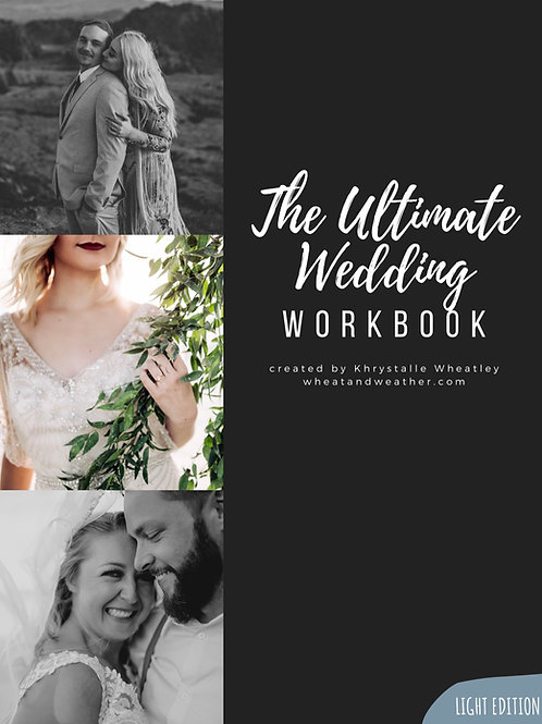 The Ultimate Wedding Workbook - Light Version