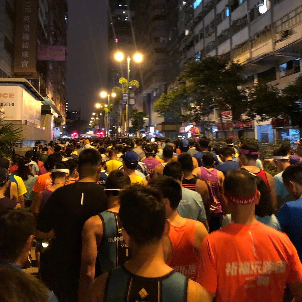 Hong Kong Marathon Race Start