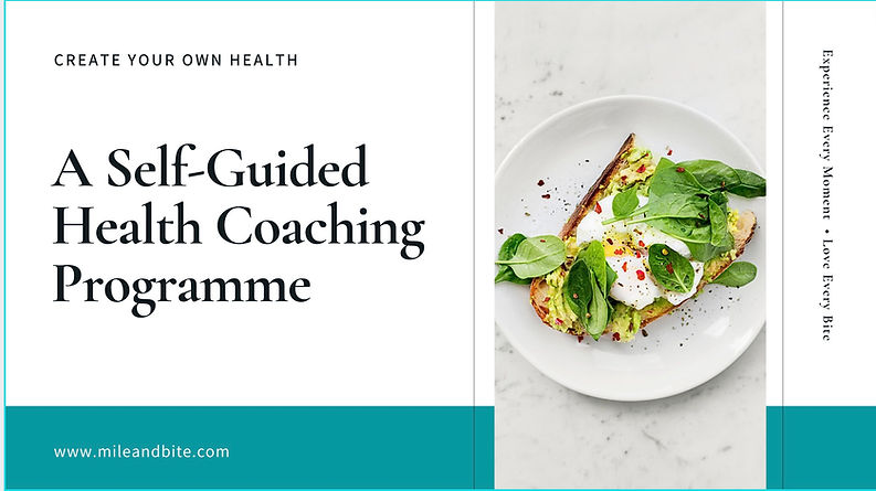 Free Self Guided Health Coaching Program