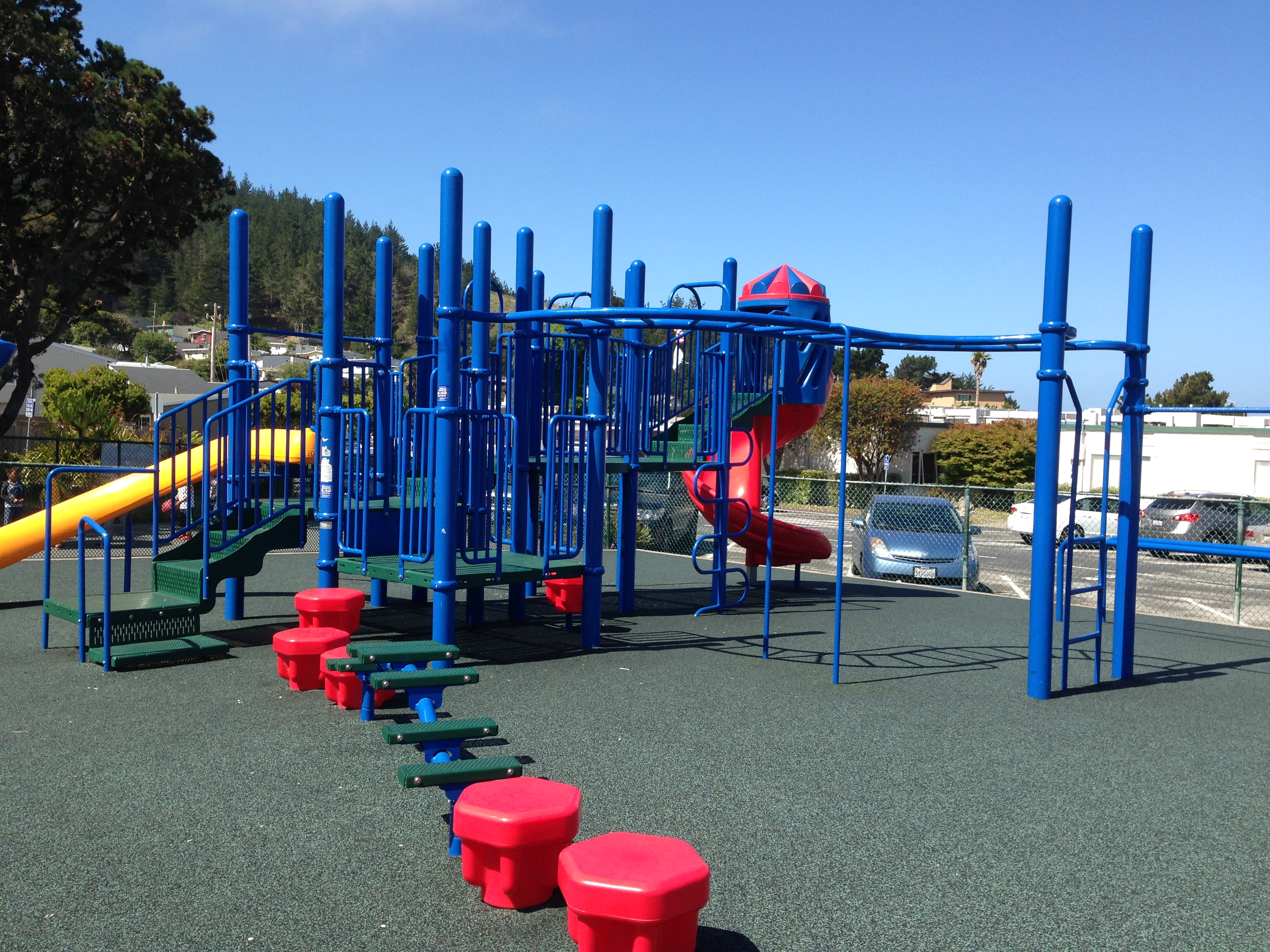 Improved and expanded playground