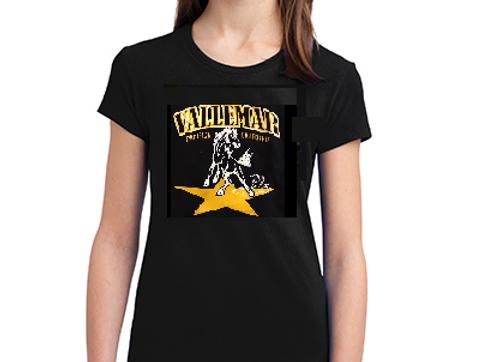 Youth Girls Cut Tshirt - Classic Banner Logo