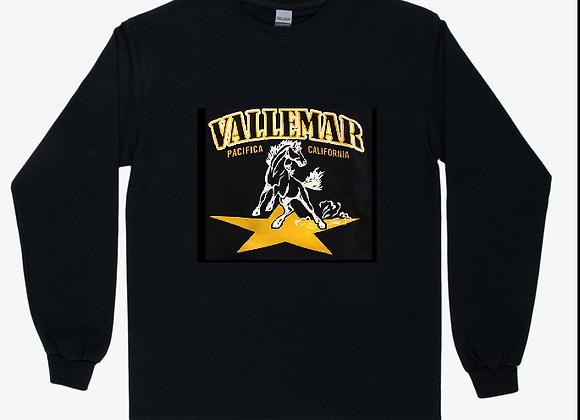 Adult Long Sleeve TShirt - Traditional Star Stallion Logo