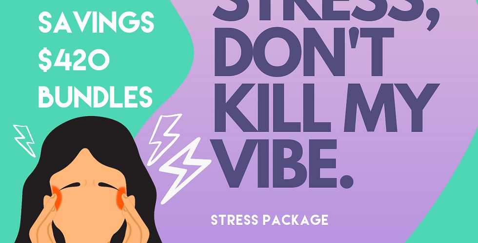 😠 STRESS & ANXIETY BUNDLE