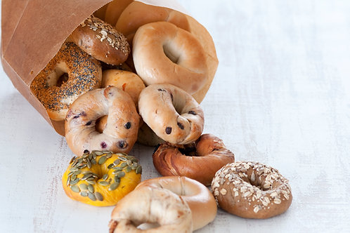 In Person Class: No Boil Bagel Making 1/24 @ 10AM