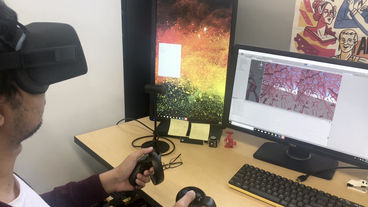 Effects of Visual Aids on Navigation in VR