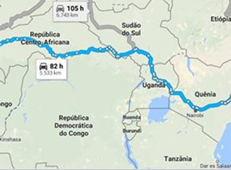A aventura de Muitosamigos pela África Subsaariana: do Atlântico ao Índico