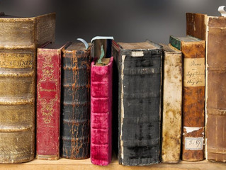 Books with Weathered Covers