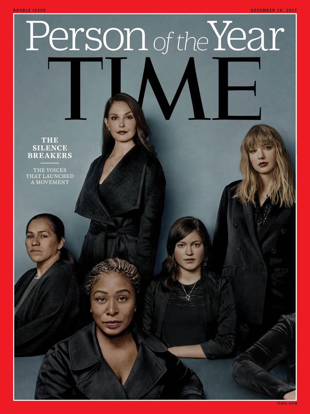 Time Magazine Cover, December 2017