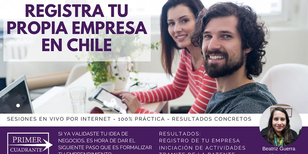 Registra tu propia empresa en Chile