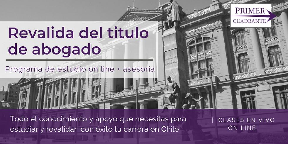Estudia para la reválida de tu título de abogado en Chile