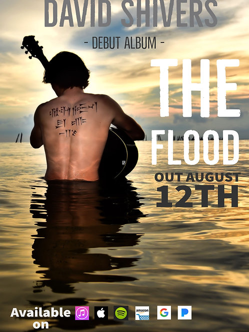 The Flood - CD Copy/Signed with Album Poster