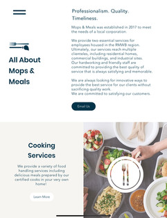 Mops Meals Website