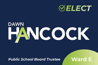 Elect Dawn Hancock Sign