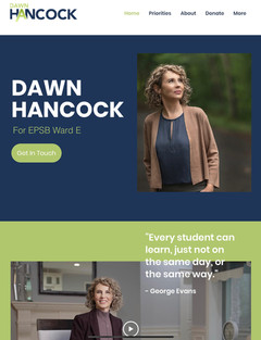 Elect Dawn Hancock Website