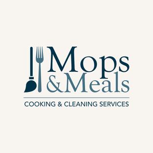 Mops & Meals Full Logo