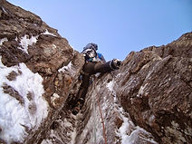 Cragging on Erraid