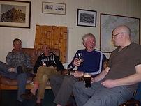 Evening at Muir Cottage