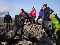 Geoff at summit