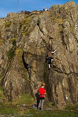 Neilston - cragging