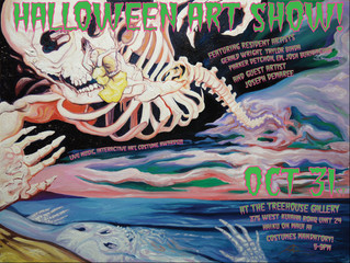 Halloween Art Show / Oct 31 / Treehouse at Pauwela