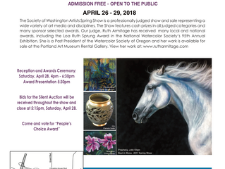 Society of Washington Spring Art Show