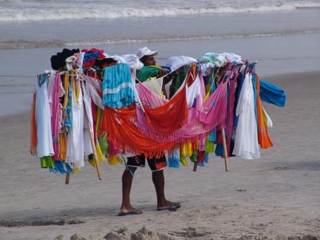 O trabalho: de categoria teórica à observação empírica no comércio ambulante de praia de Matinhos-PR