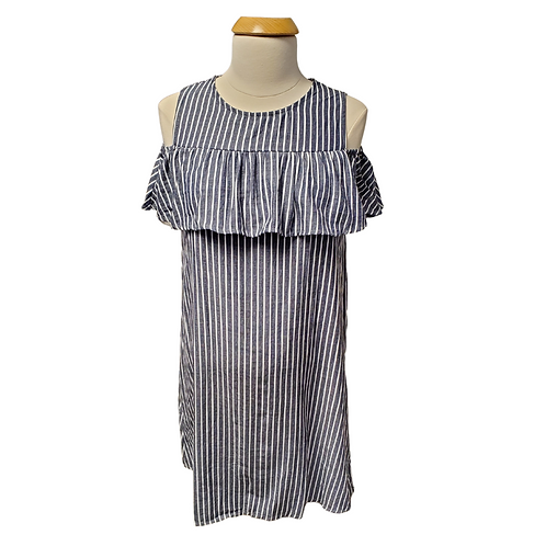 Summer Striped Maternity Dress